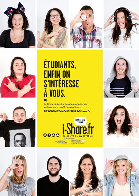 affiche i-share bustes
